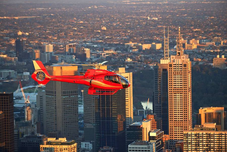 luxury melbourne experiences, microflite, private helicopter tour