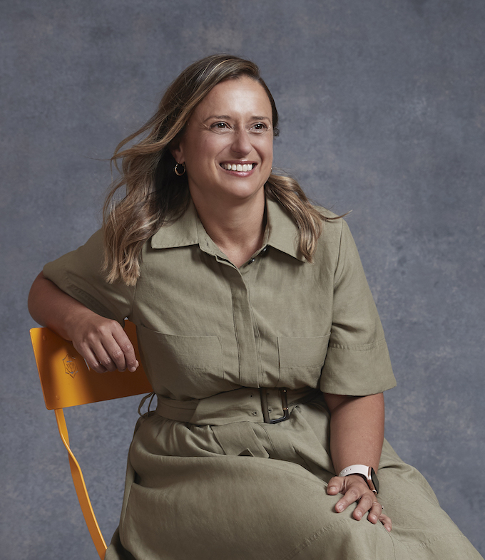 Katherine McConnell, a finalist in the Veuve Clicquot Business Woman Award 2020